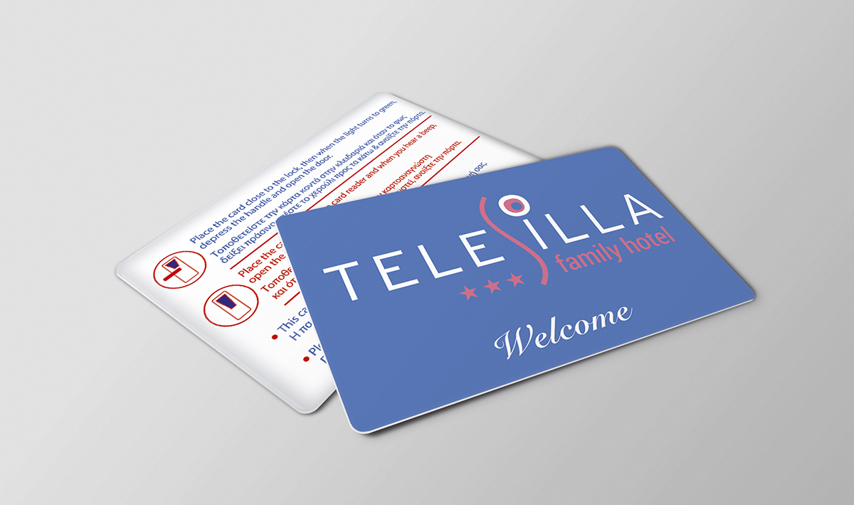 Key cards magnetic or rfid and pvc cards for hotels