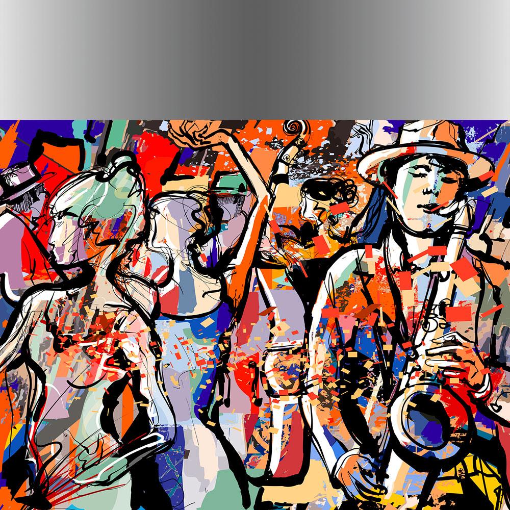 πίνακες διακόσμησης μουσική και χορός